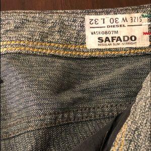 Diesel Jeans - Diesel Mens Jeans 30 Safado 0807M *MINT* MRP $348